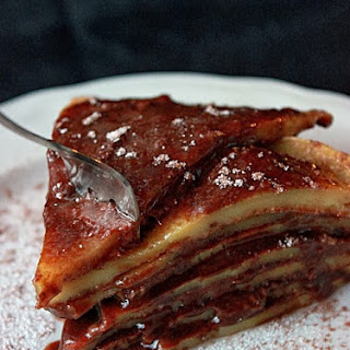 Nutella Pancake Pie