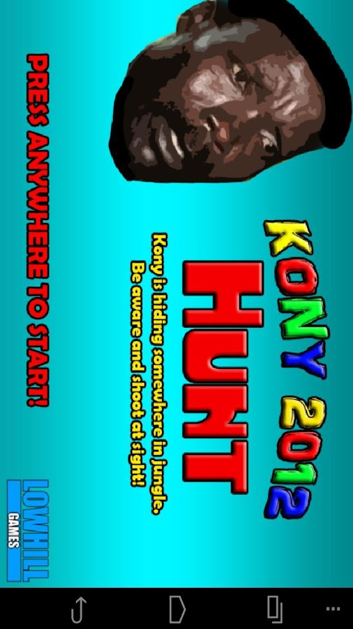 KONY 2012 HUNT - Premium - screenshot
