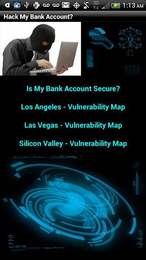 Hack My Bank Account