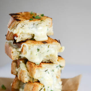 White Pizza Grilled Cheese.