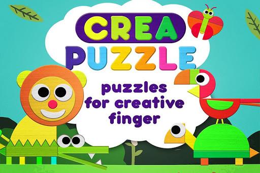 CreaShape Animal jigsaw puzzle