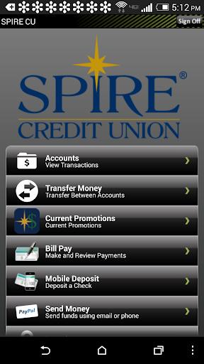 【免費財經App】SPIRE Credit Union Mobile-APP點子