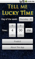 Screenshot of Tell Me Lucky Time