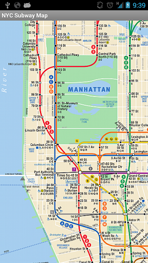 NYC Subway Bus Realtime & Map - Android Apps on ...
