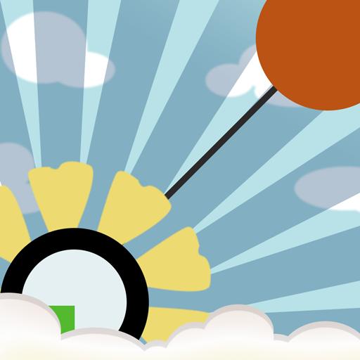彩虹球-旋转跑酷 Rainbow Ball 休閒 App LOGO-硬是要APP