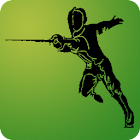 Riposte for fencing referees icon