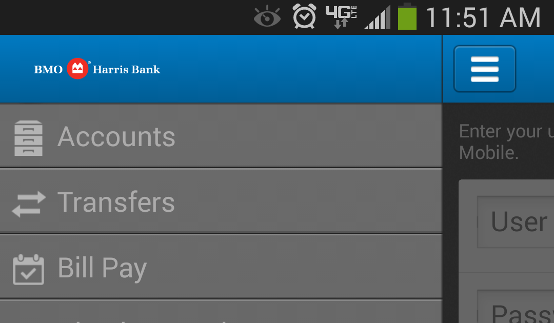 apk share: bmo harris online banking