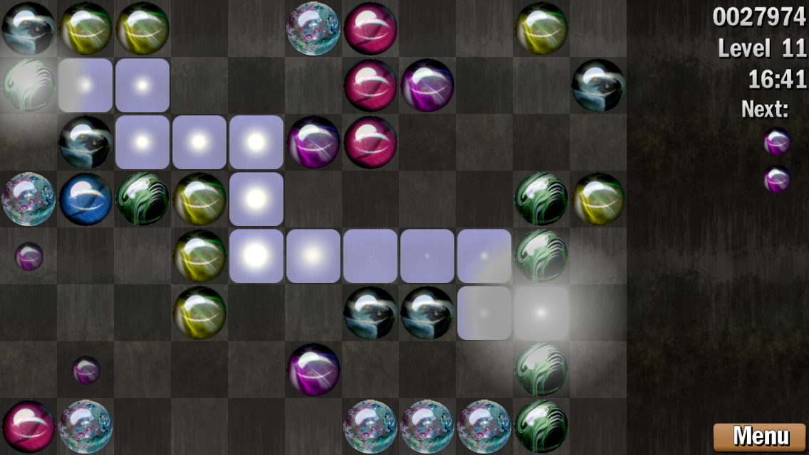 Marble Craft - Connect 4- screenshot