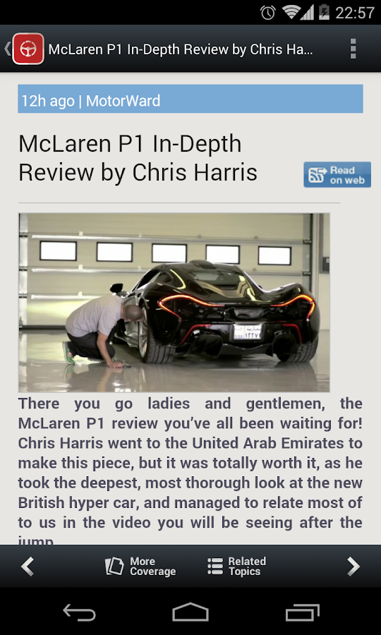 Auto News & Reviews - screenshot