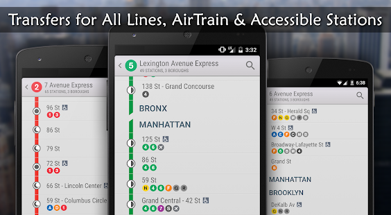 MyTrans.it NYC - Subway (MTA) - screenshot thumbnail