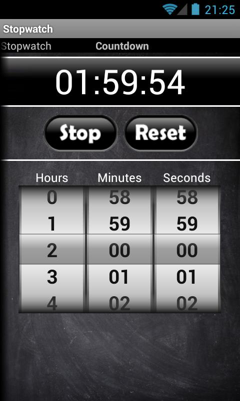 Stopwatch & Countdown Timer - screenshot
