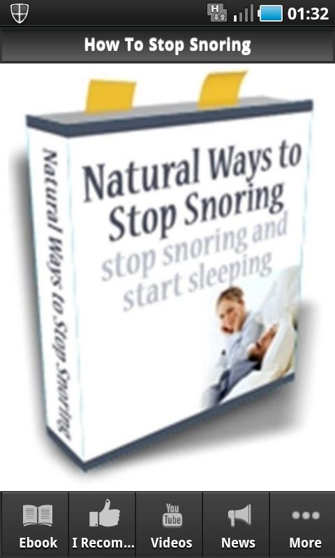 How To Stop Snoring - screenshot