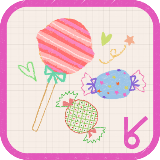 lovely candy_ATOM theme LOGO-APP點子