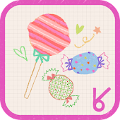lovely candy_ATOM theme