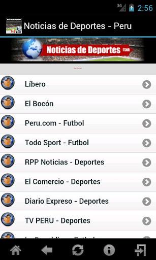 Noticias de Deportes - Peru