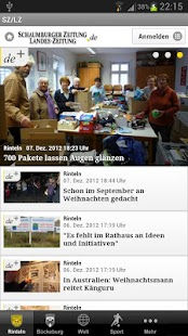 Schaumburger Zeitung - SZ/LZ - screenshot thumbnail