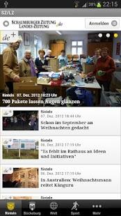 Schaumburger Zeitung - SZ/LZ - screenshot thumbnail