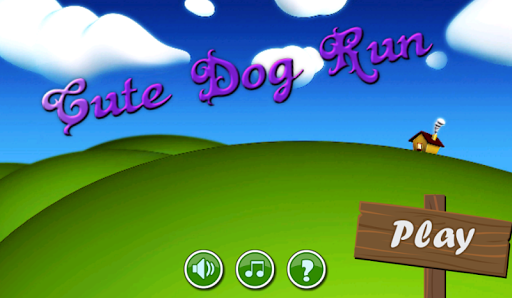 Cute Dog Run