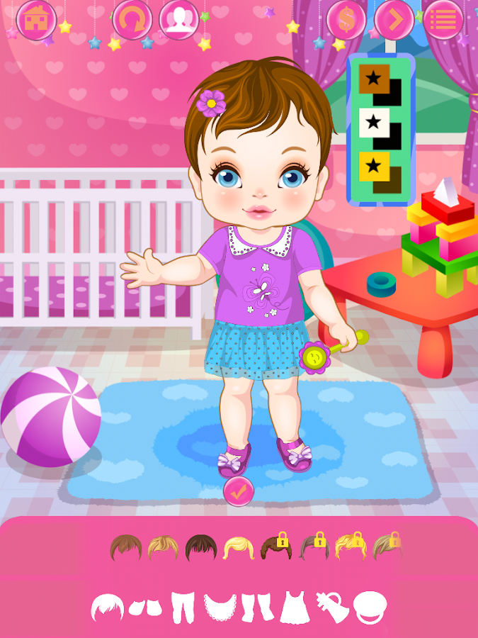 Baby Girl Fashion Free DressUp - Android Apps on Google Play
