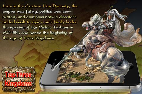 Tap Three Kingdoms - screenshot