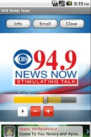 Screenshot of 949 News Now