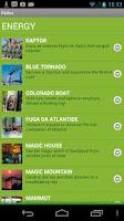 Screenshot of Gardaland Resort Official App