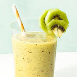 Kiwi-Pineapple Smoothies.