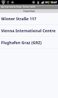 Screenshot of Spritpreisrechner Österreich