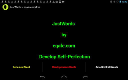 JustWords - Learn to Read Fast
