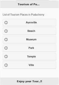 Tourist Places In Puducherry screenshot 0