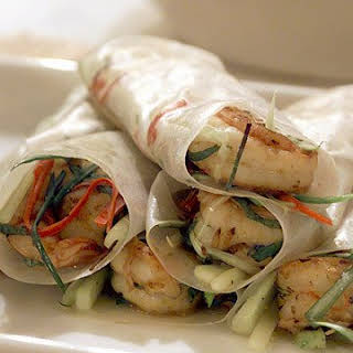 Donna's Chile Rice-Paper Rolls.