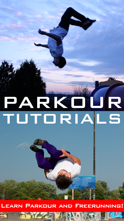 Parkour Tutorials- screenshot
