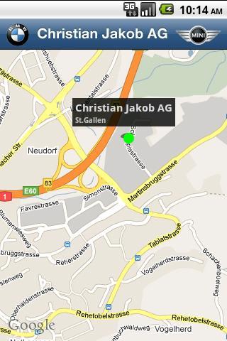 Christian Jakob AG - screenshot