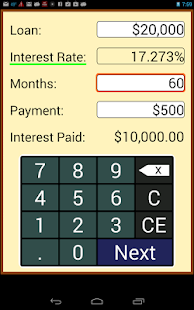 Loan Calculator - screenshot thumbnail