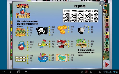 Mega Pirates Slot Machine- screenshot thumbnail