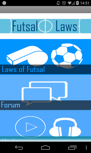 The Futsal Laws of the Game