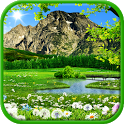 Mountain live wallpaper free icon