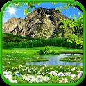 Mountain live wallpaper free icon