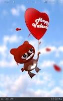 Screenshot of Valentine - 3D live wallpaper