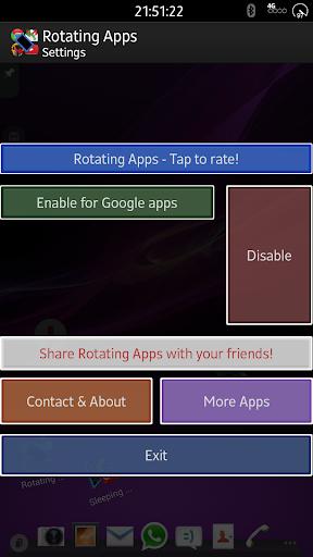 Rotating Apps MultiTasking