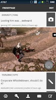 Screenshot of Reddit Suited Up