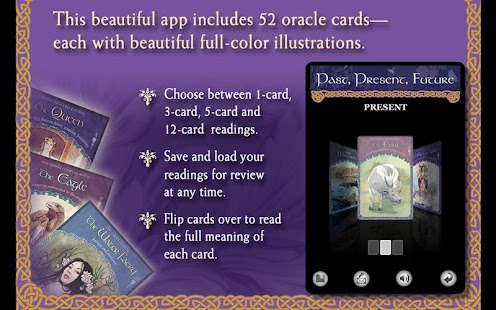 Wisdom of Avalon Oracle Cards- screenshot thumbnail