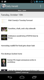 Daily Herald - screenshot thumbnail