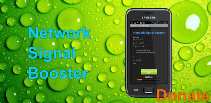 Network Signal Booster Donate apk