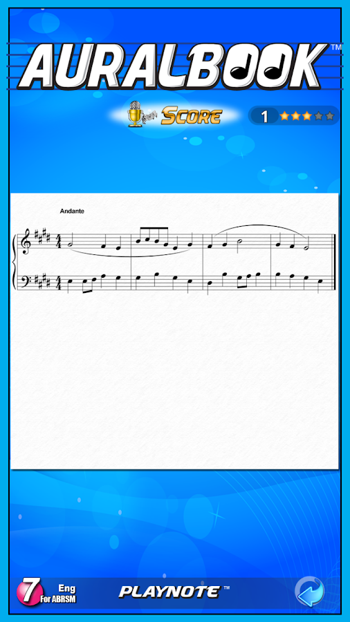 AURALBOOK for ABRSM Grade 7 - screenshot