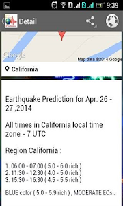 Earthquake Prediction screenshot 1
