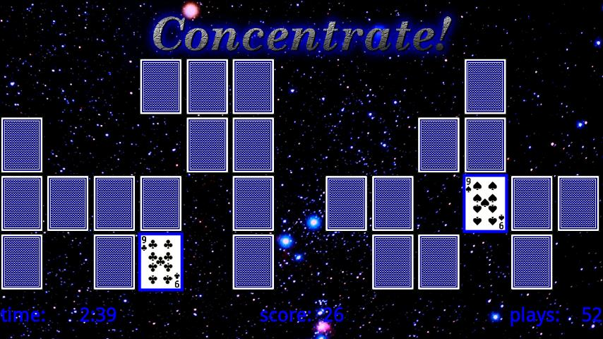 Concentrate - screenshot