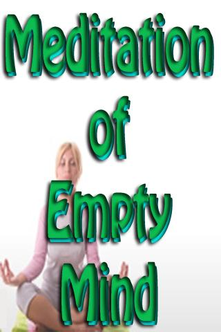 Meditation Of Empty Mind