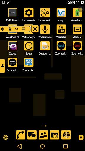 免費個人化App|Dusky Yellow TSF Shell Theme|阿達玩APP