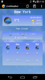 Live Weather Pro - screenshot thumbnail